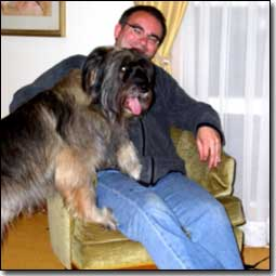 Briard-Artemis with Director Brett Bell